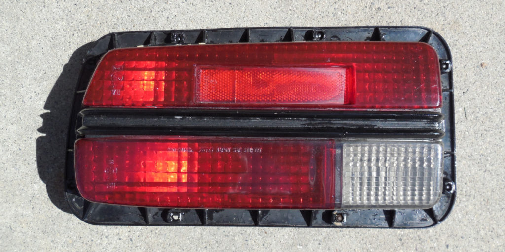 Datsun 240z Refurbish Tail Light Assembly Woodworkerb
