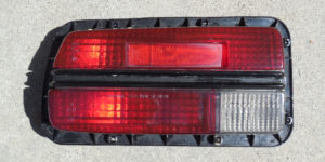 240Z Tail Light Assembly - Assembly Front Before