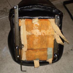 Datsun 240Z seat rebuild - Original Seats