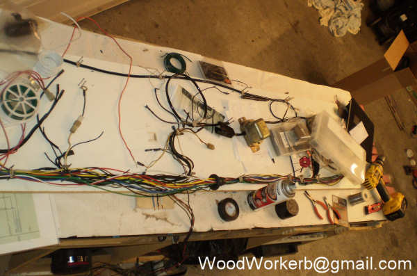 datsun 240z wiring harness refresh rh woodworkerb com wiring harness board accessories wire harness board nails