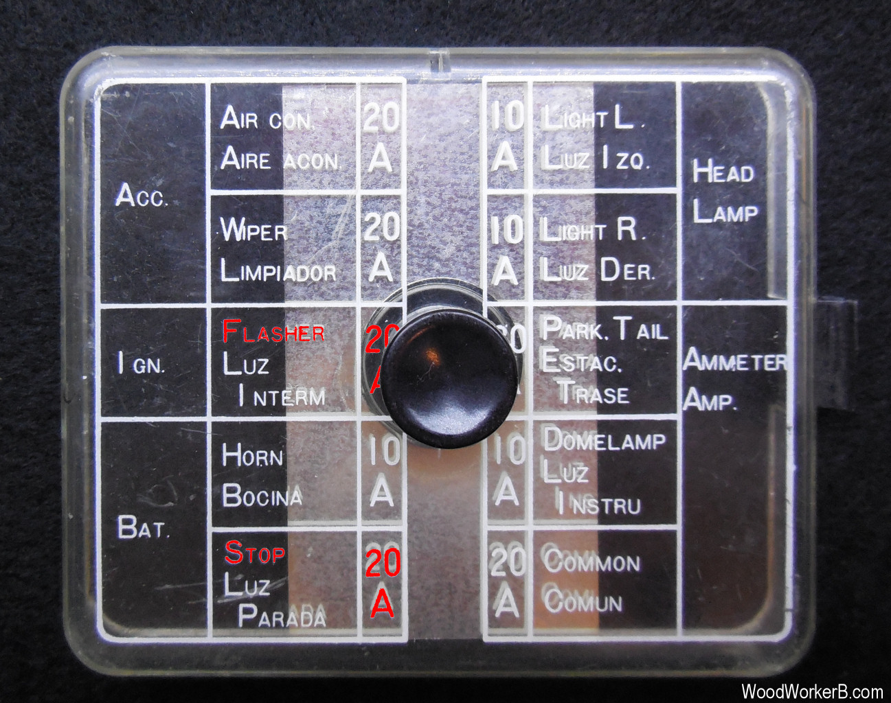 1972 ford mustang fuse box diagram