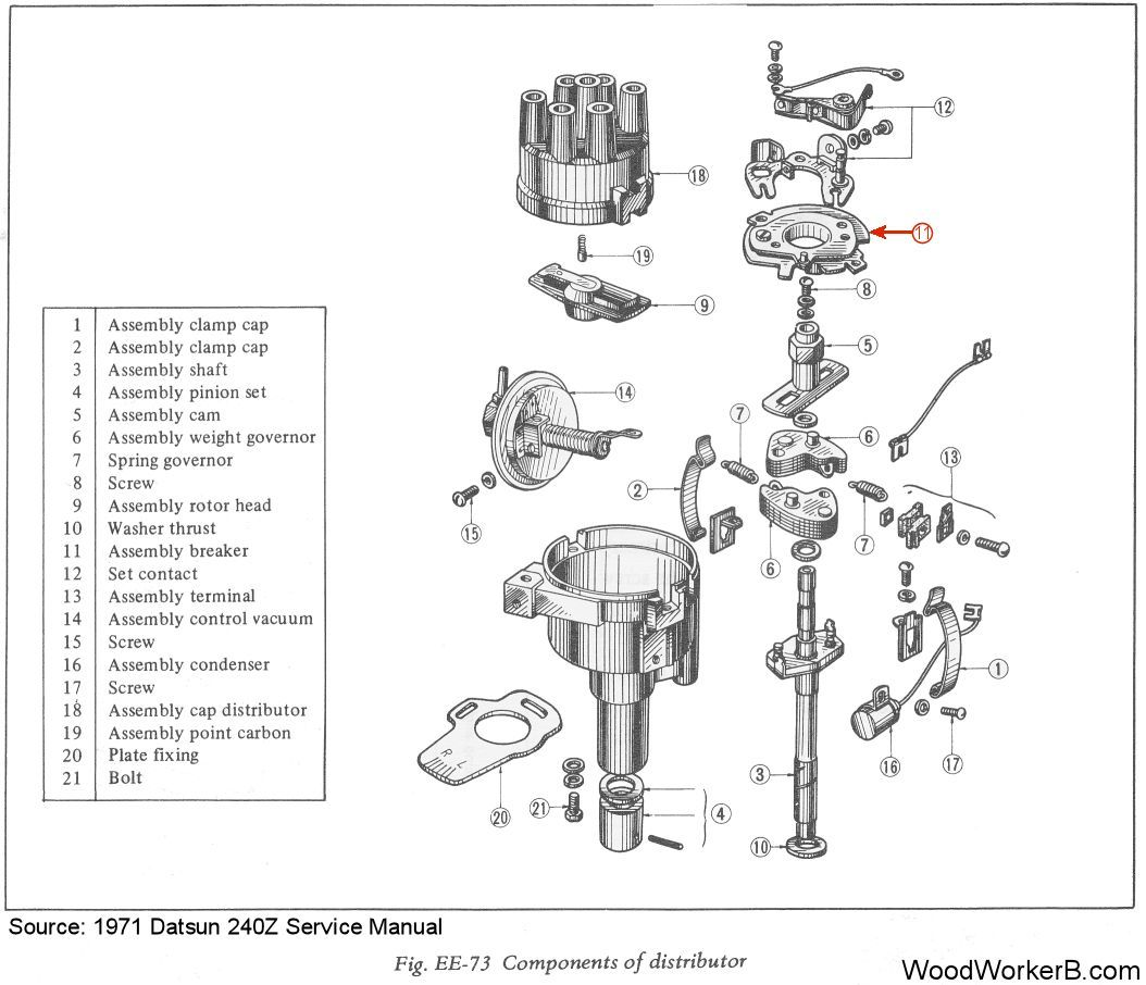Nissan 280zx Alternator Wiring Diagram Com