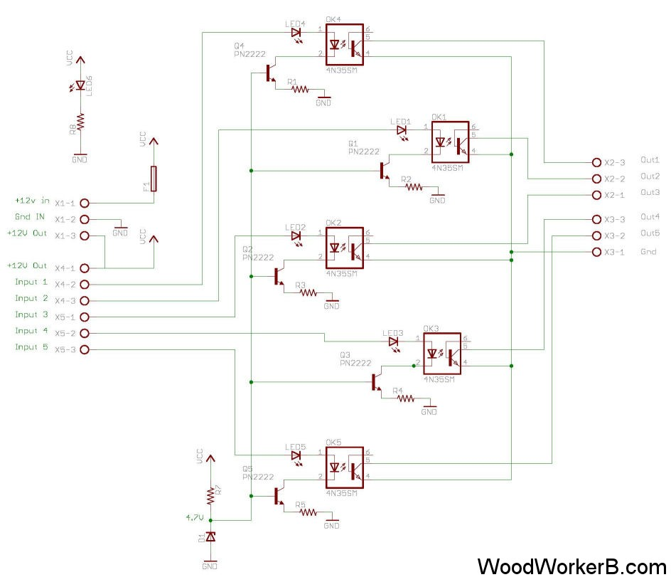 setup and configuration of limit switches woodworkerb rh woodworkerb com Cranes 2 Speed Wiring Diagram Crane Motor Wiring Diagram