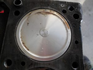 Datsun 240 Junkyard Find - Piston Top