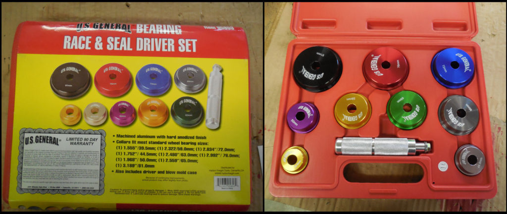 Harbor Freight Bearing Race & Seal Driver Set