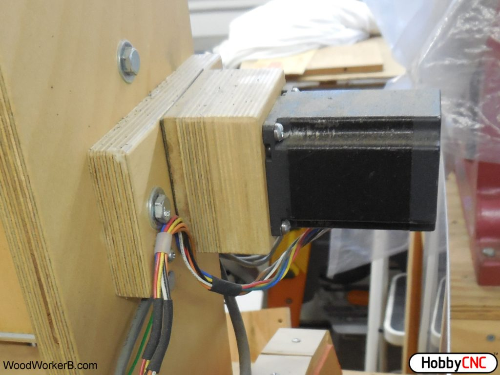 Diy Cnc Wiring Harness Great Installation Of Diagram Aerospace Electrical Wire Stepper Motor Assembly Woodworkerb Servo